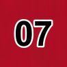 07 červená