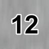 12 tmavosivý melír