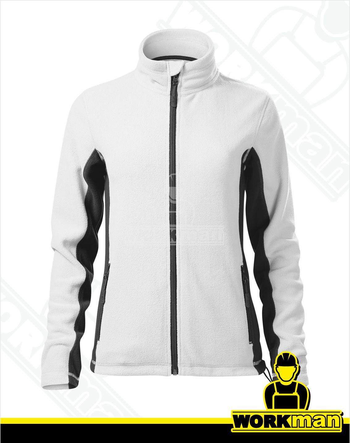 d85c3d1be Dámska fleece bunda FROSTY Malfini biela Pracovné odevy Workman