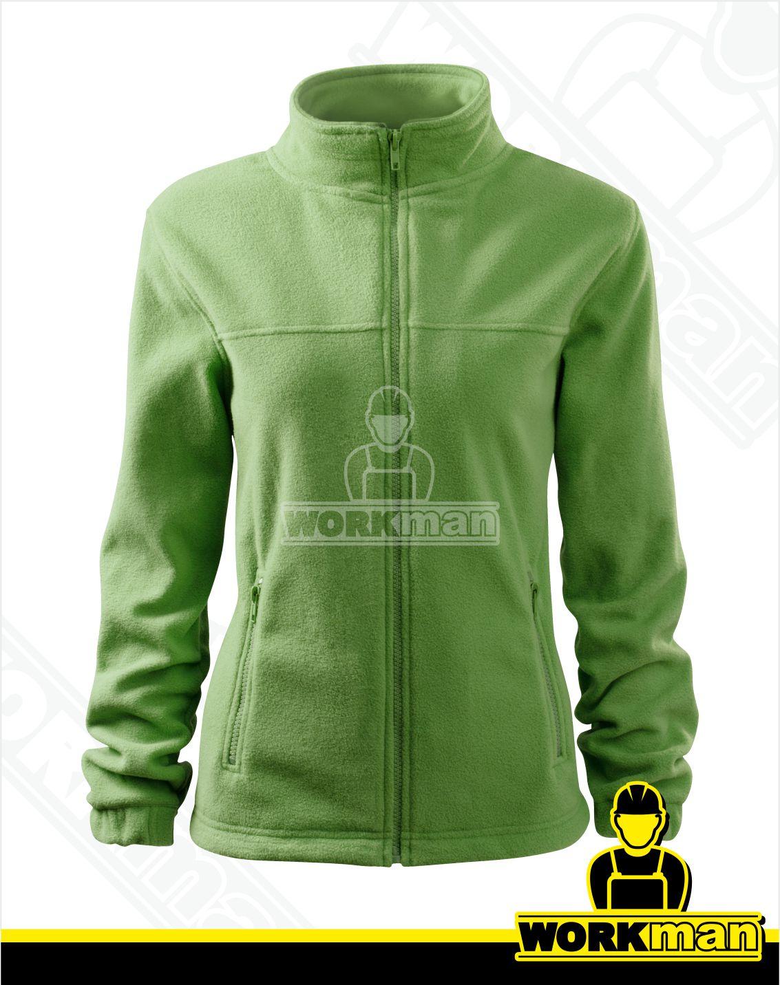 119416211 Dámska fleece bunda JACKET Rimeck hrášková zelená Pracovné odevy