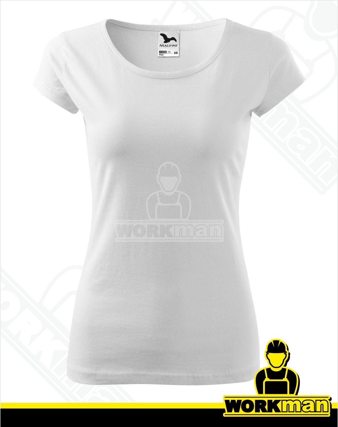 ebf93b1e27ef Dámske tričko PURE Malfini biela Pracovné odevy Workman