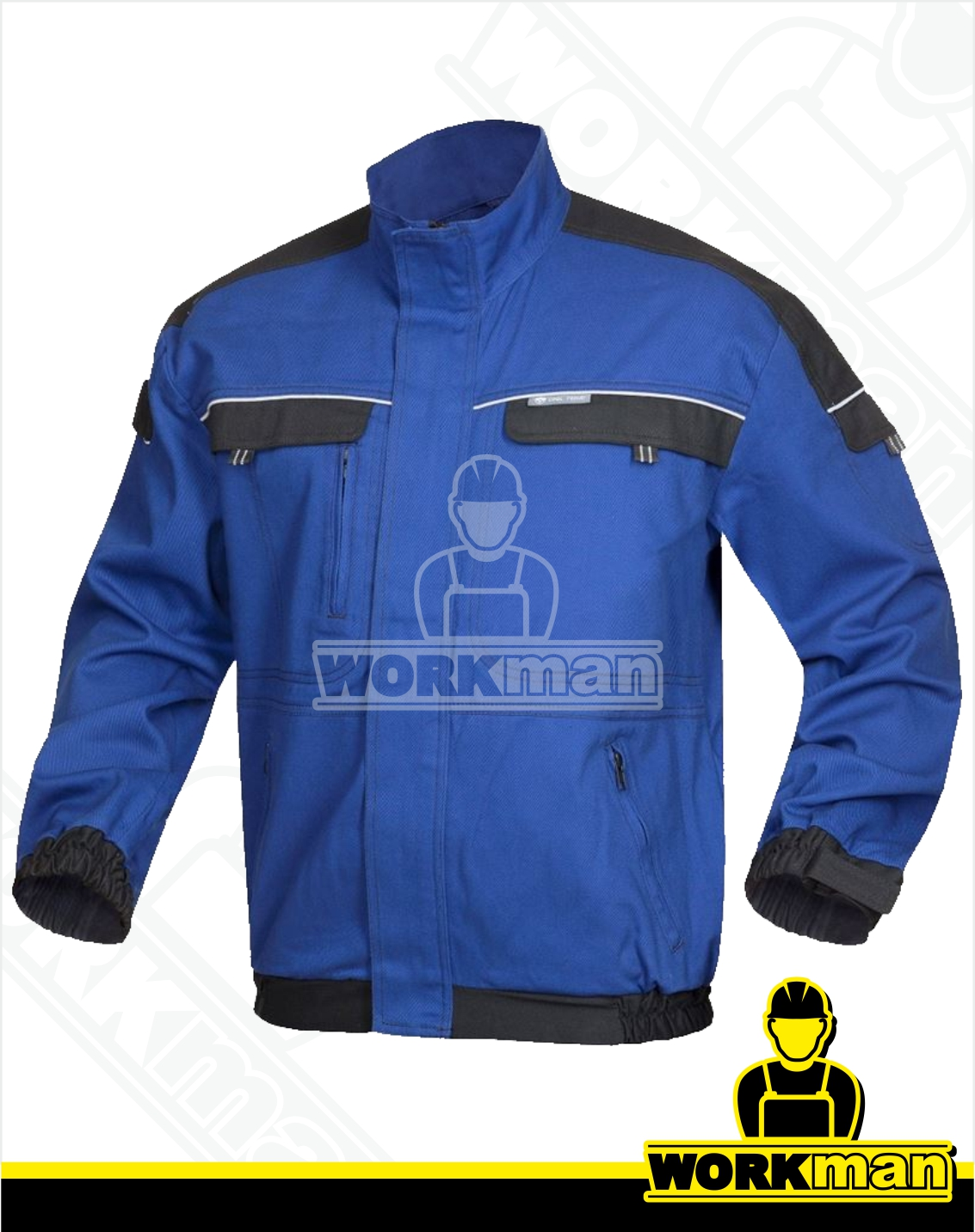 476671d056f7 Montérková blúza COOL TREND Ardon modrá čierna Pracovné odevy Workman