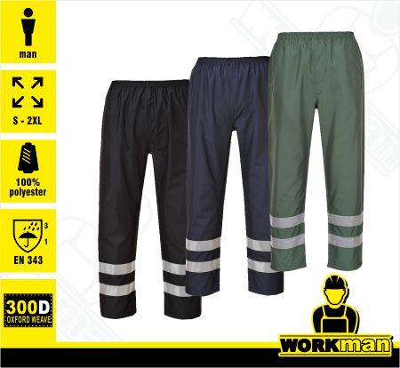 28c18a0b09e8 Nepremokavé reflexné nohavice IONA S481 Portwest WORKMAN