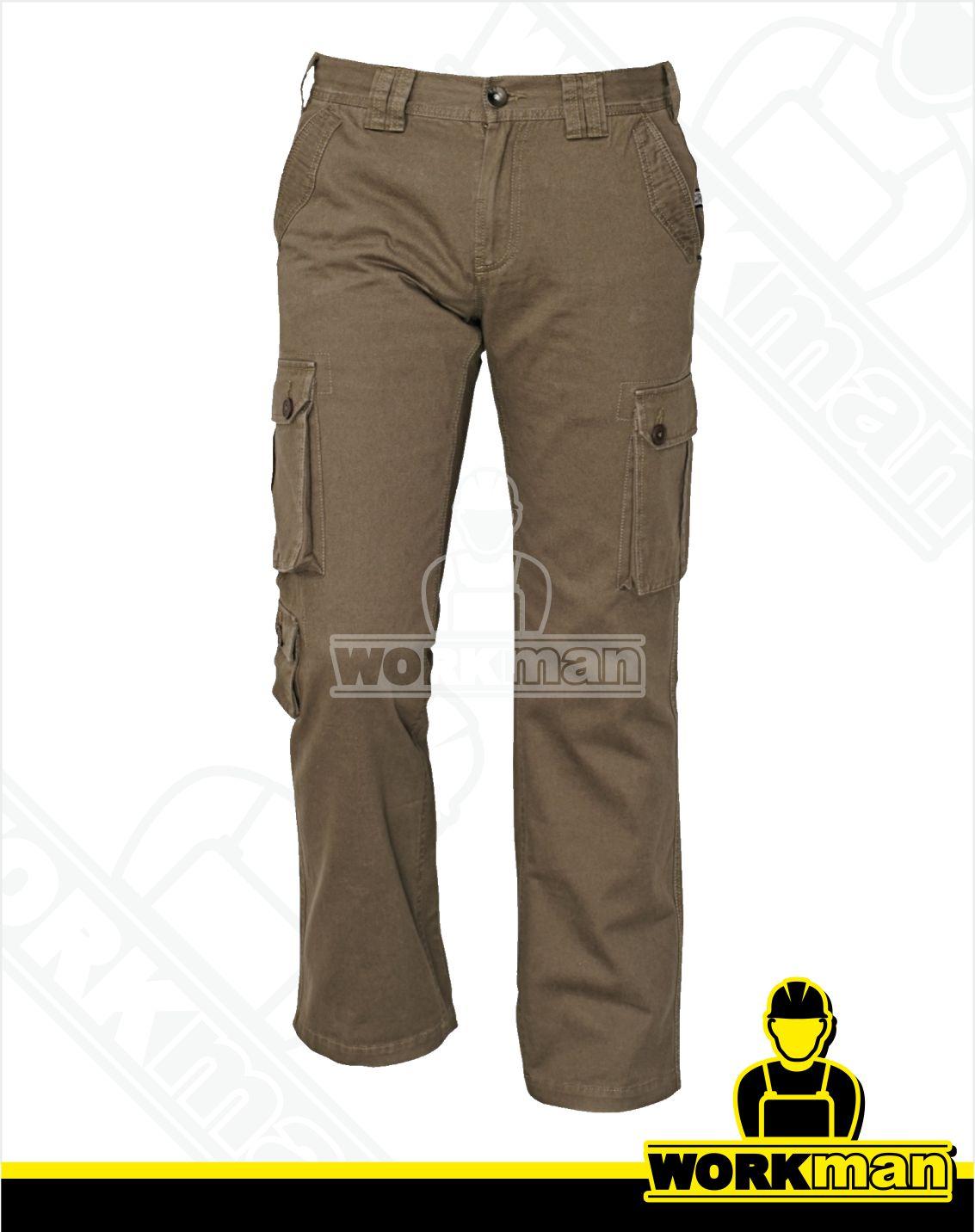 8748739c058d Outdoorové nohavice CHENA Crv olivová Pracovné odevy WORKMAN