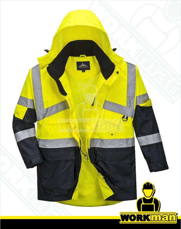 523ed997026e Reflexná bunda Hi-vis TWO TONE S760 Portwest žltá Pracovné odevy