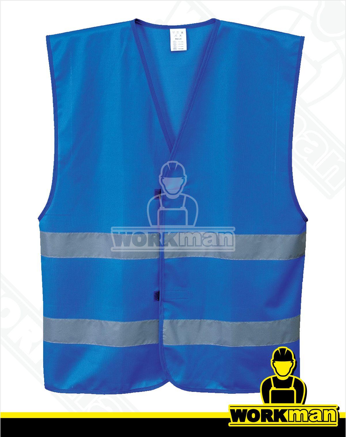 4e692ff1b8c3 Reflexná vesta IONA F474 Portwest modrá Pracovné odevy WORKMAN