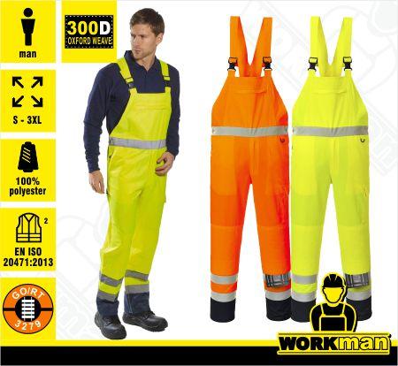 5363863ca069 Reflexné montérkové nohavice Hi-Vis PJ52 Portwest Pracovné odevy