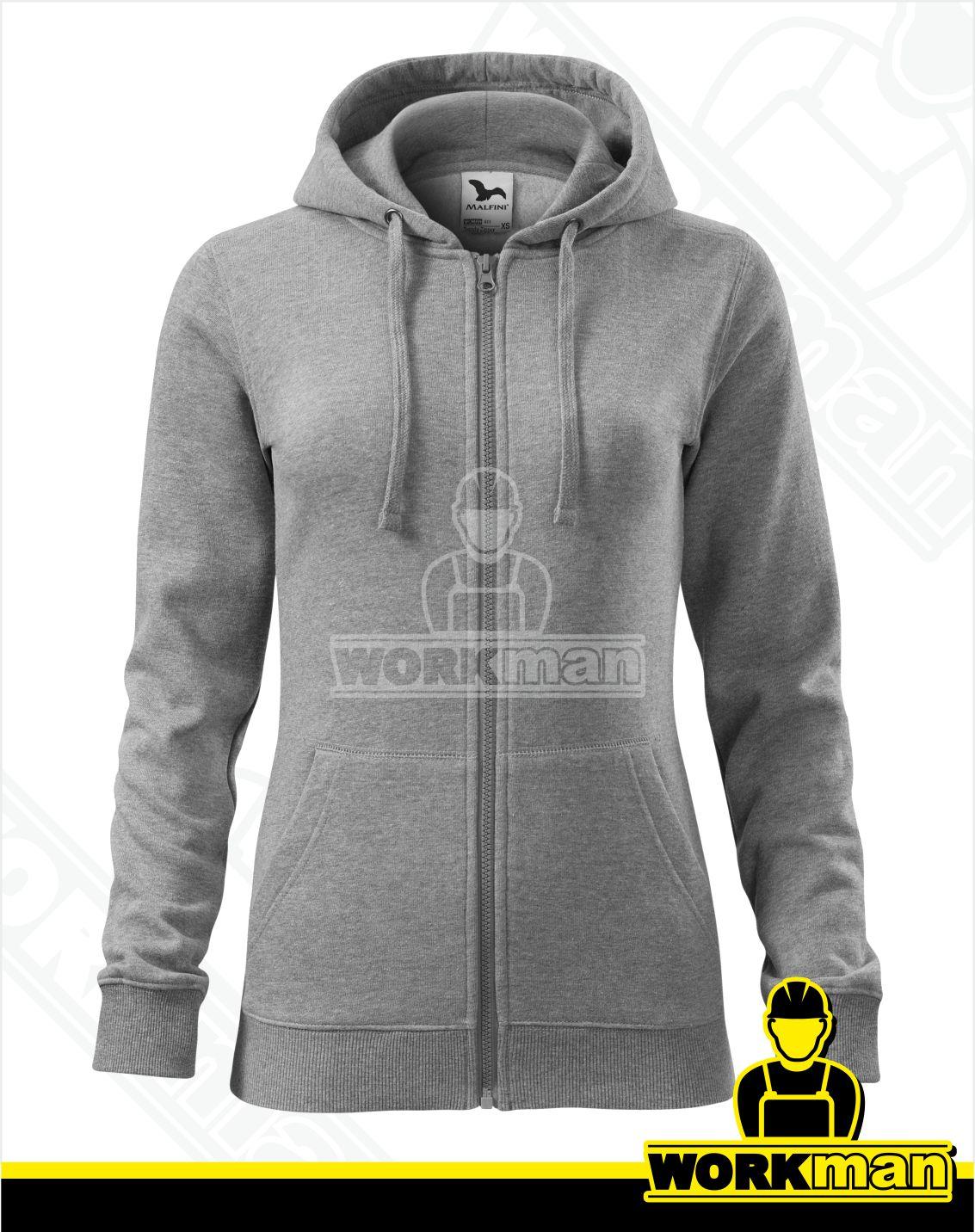 76ce7f154200 Dámska mikina TRENDY ZIPPER Malfini Pracovné odevy Workman