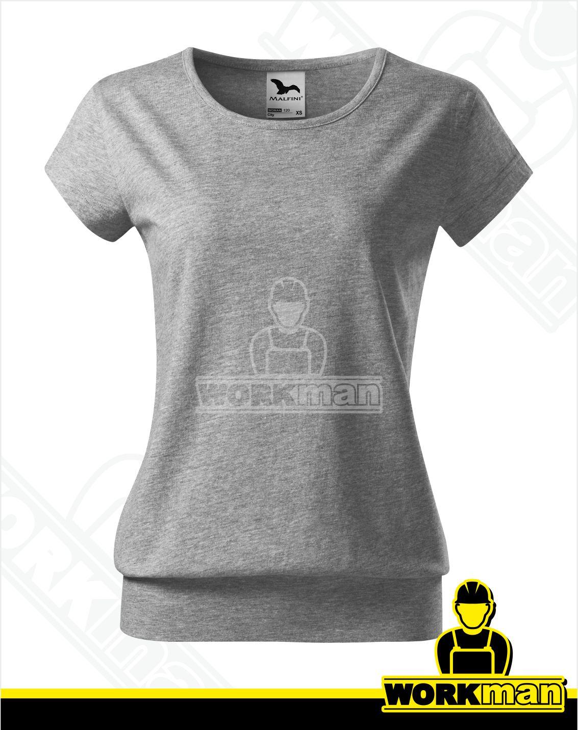fdb95bd99022 Dámske tričko CITY Malfini Pracovné odevy WORKMAN