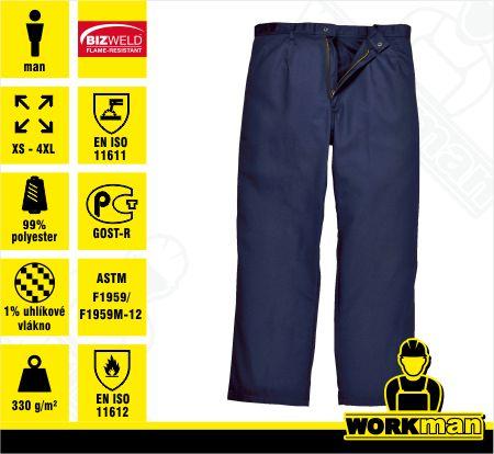 657291bb598 Zváračské nohavice Bizweld BZ30NAR Portwest Pracovné odevy WORKMAN