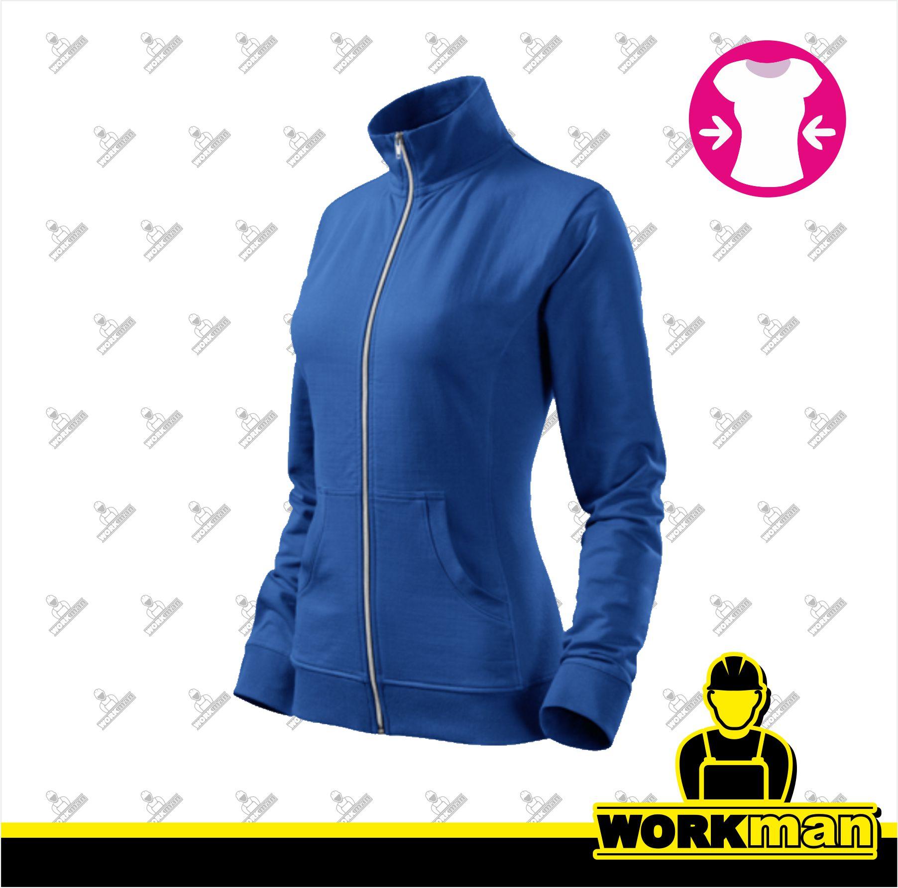f9682a16e4d Mikina dámska VIVA Adler francúzska modrá Pracovné odevy Workman