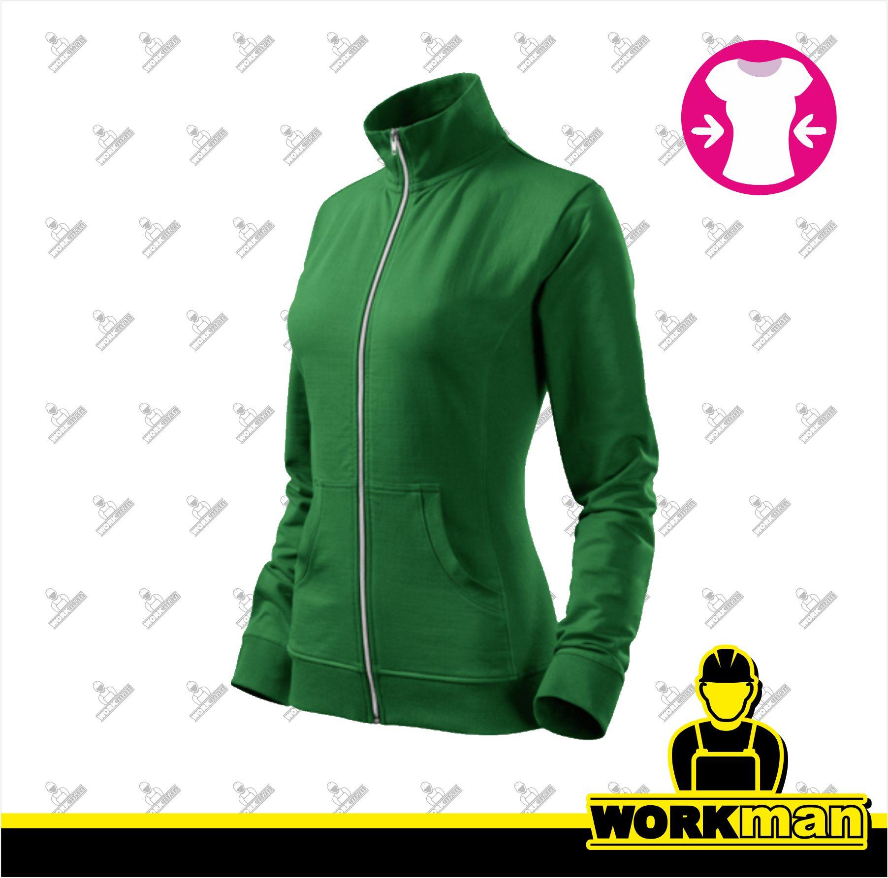 Mikina dámska VIVA Adler trávová zelená Pracovné odevy Workman 519f3c92a1e