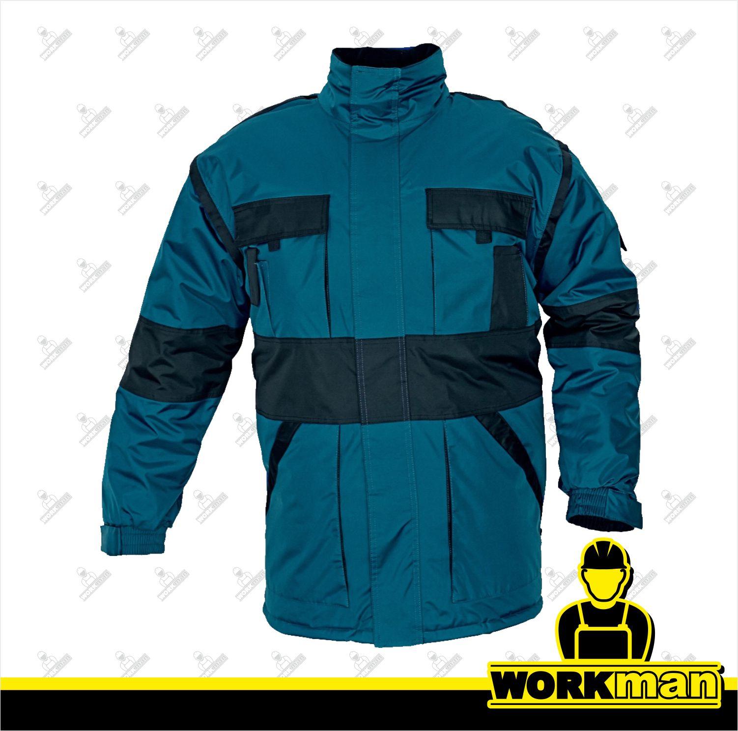 Nepremokavá zimná bunda MAX 2V1 Červa Pracovné odevy Workman 58ec1338524