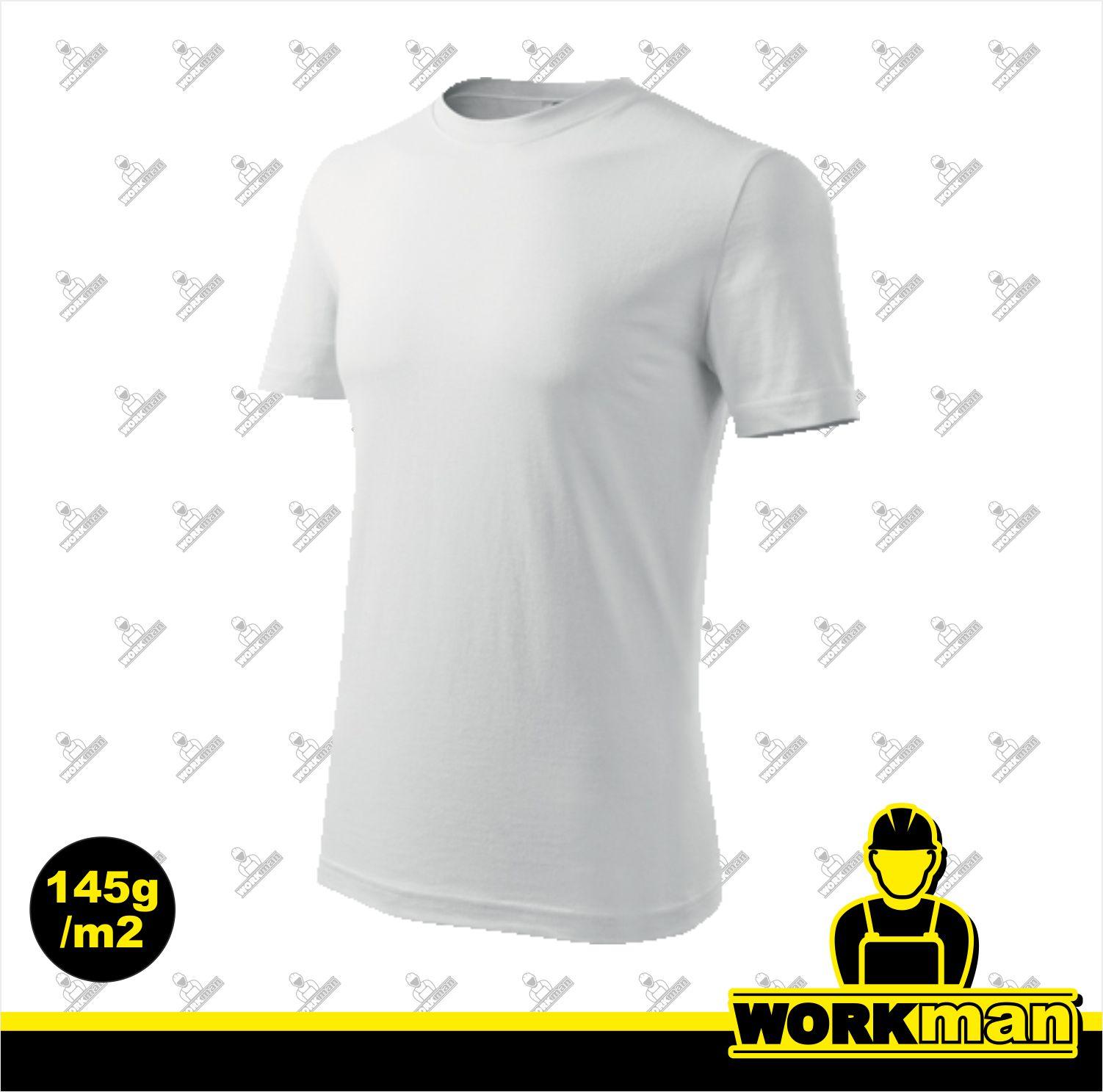 2d9e5e1b7728 Tričko pánske CLASSIC NEW 145 Adler biela Pracovné odevy Workman
