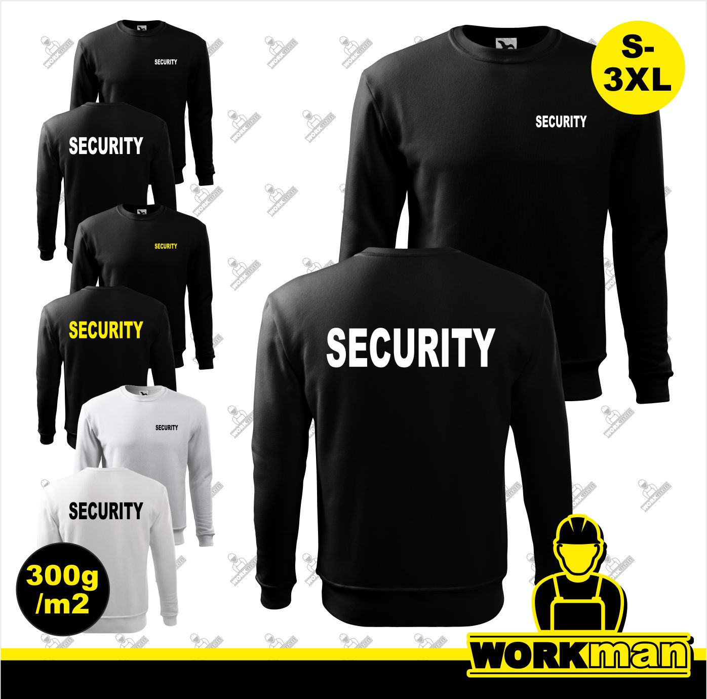 Mikina SECURITY 300g