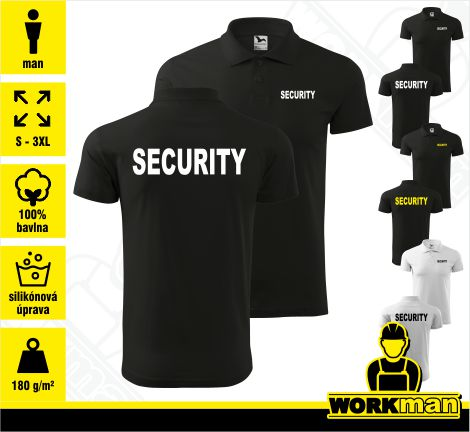 Polokošeľa SECURITY 180g