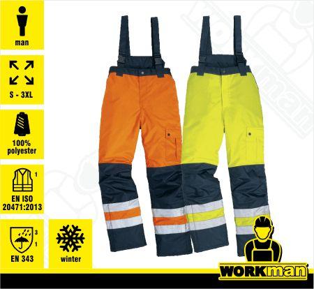 067c32c95061 Zateplená reflexná bunda EASYVIEW Deltaplus Pracovné odevy WORKMAN