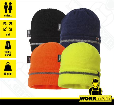 Reflexná čiapka TRIM KNIT HAT INSULATEX LINED B023 Portwest