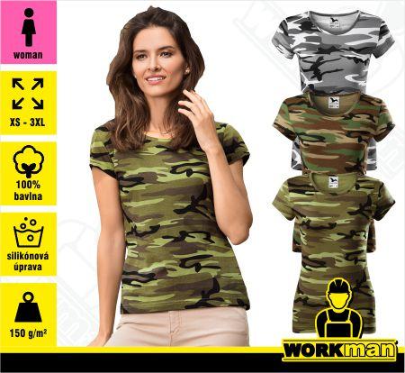 bb3dd347023ed Dámske tričko DREAM Malfini Pracovné odevy WORKMAN