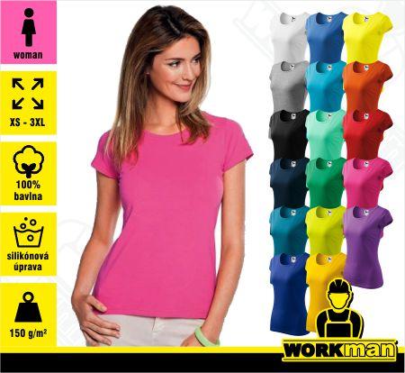 b2f82a467f5c3 Dámske tričko DREAM Malfini Pracovné odevy WORKMAN