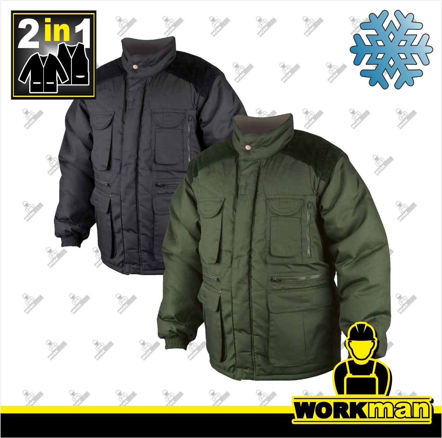 Zimná pracovná bunda DANNY 2v1 Ardon Pracovné odevy WORKMAN ae4d8ee2a50