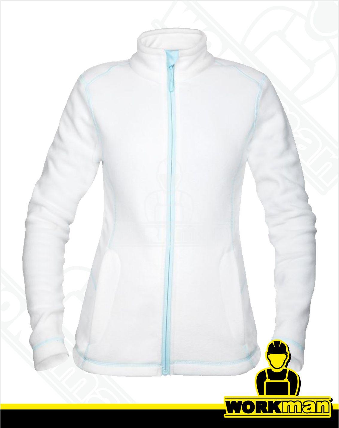 357f38a2f Dámska fleecová mikina YVONNE Ardon biela Pracovné odevy WORKMAN