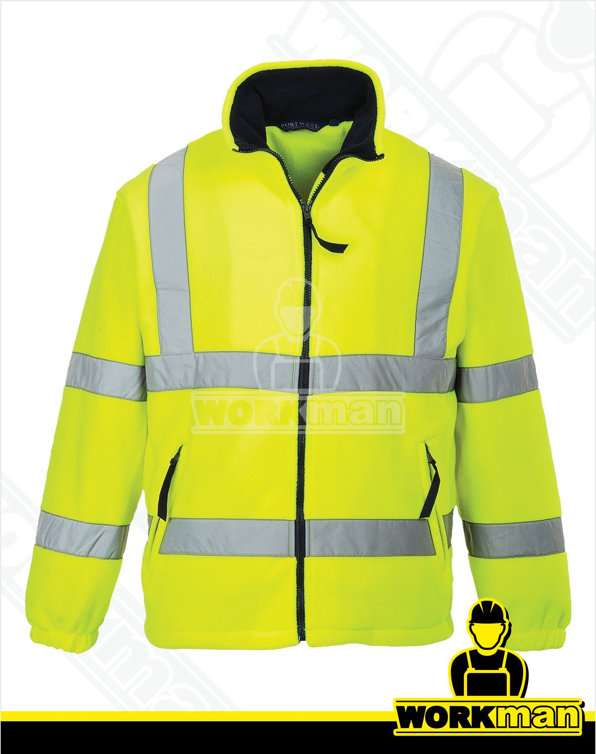 f3195d72c5f4 Reflexná fleece bunda F300 Portwest žltá Pracovné odevy WORKMAN