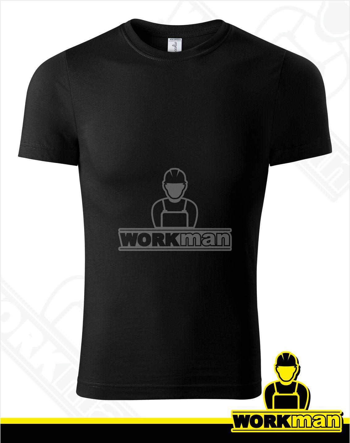 a57df17459b3 Unisex tričko PEAK Piccolio čierna Pracovné odevy WORKMAN