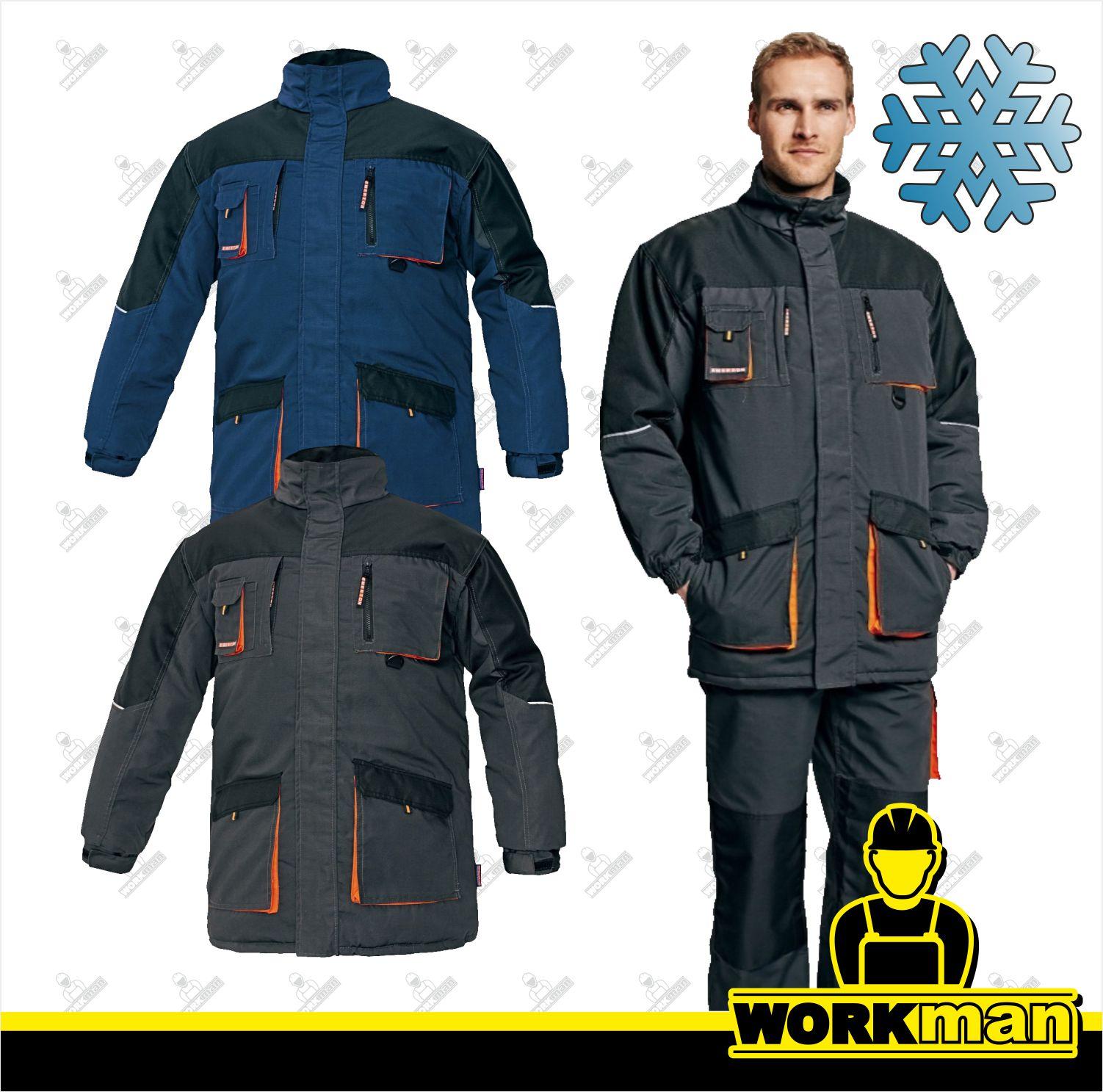 c413eacdf0dc Zimná bunda EMERTON WINTER LONG Červa Pracovné odevy Workman