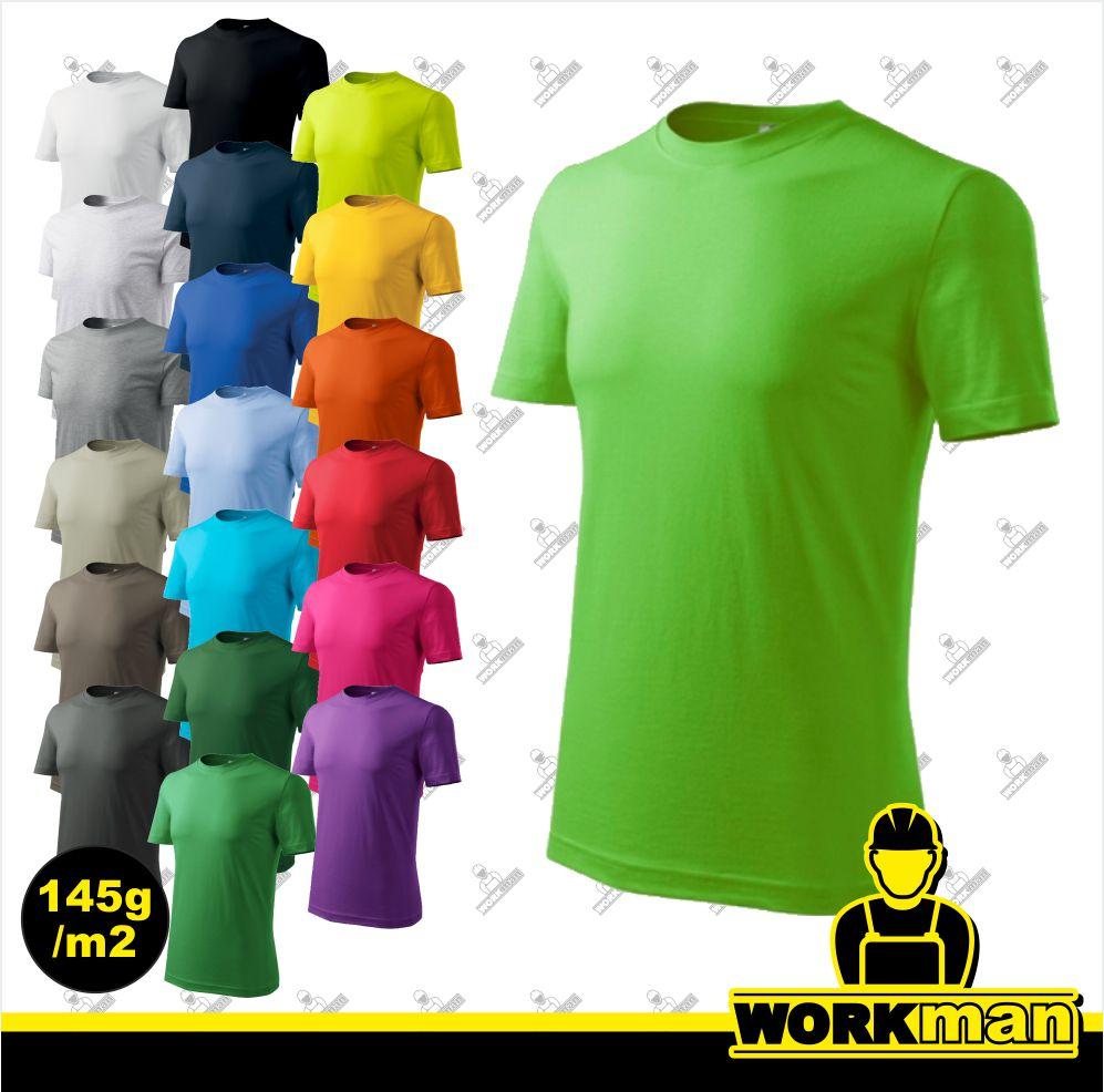 Tričko pánske CLASSIC NEW Adler Pracovné odevy Workman 68d567104a