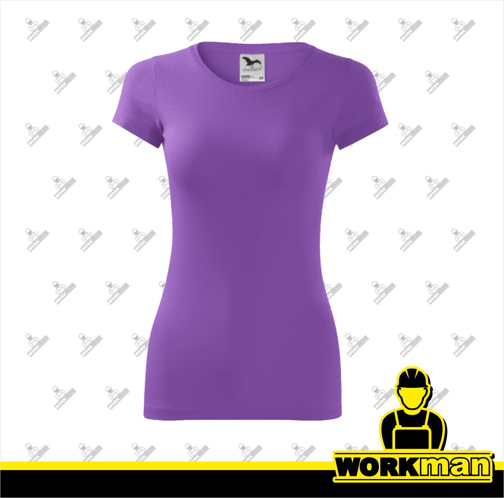 7663285127b0 Tričko dámske GLANCE Adler fialová Pracovné odevy WORKMAN