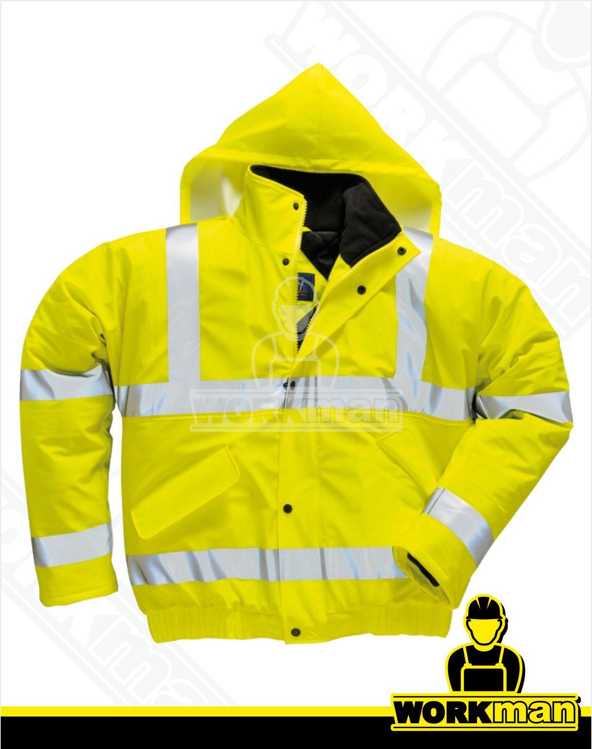 deef2e1d8721 Reflexná bunda Hi-vis PILOT S498 Portwest Pracovné odevy WORKMAN
