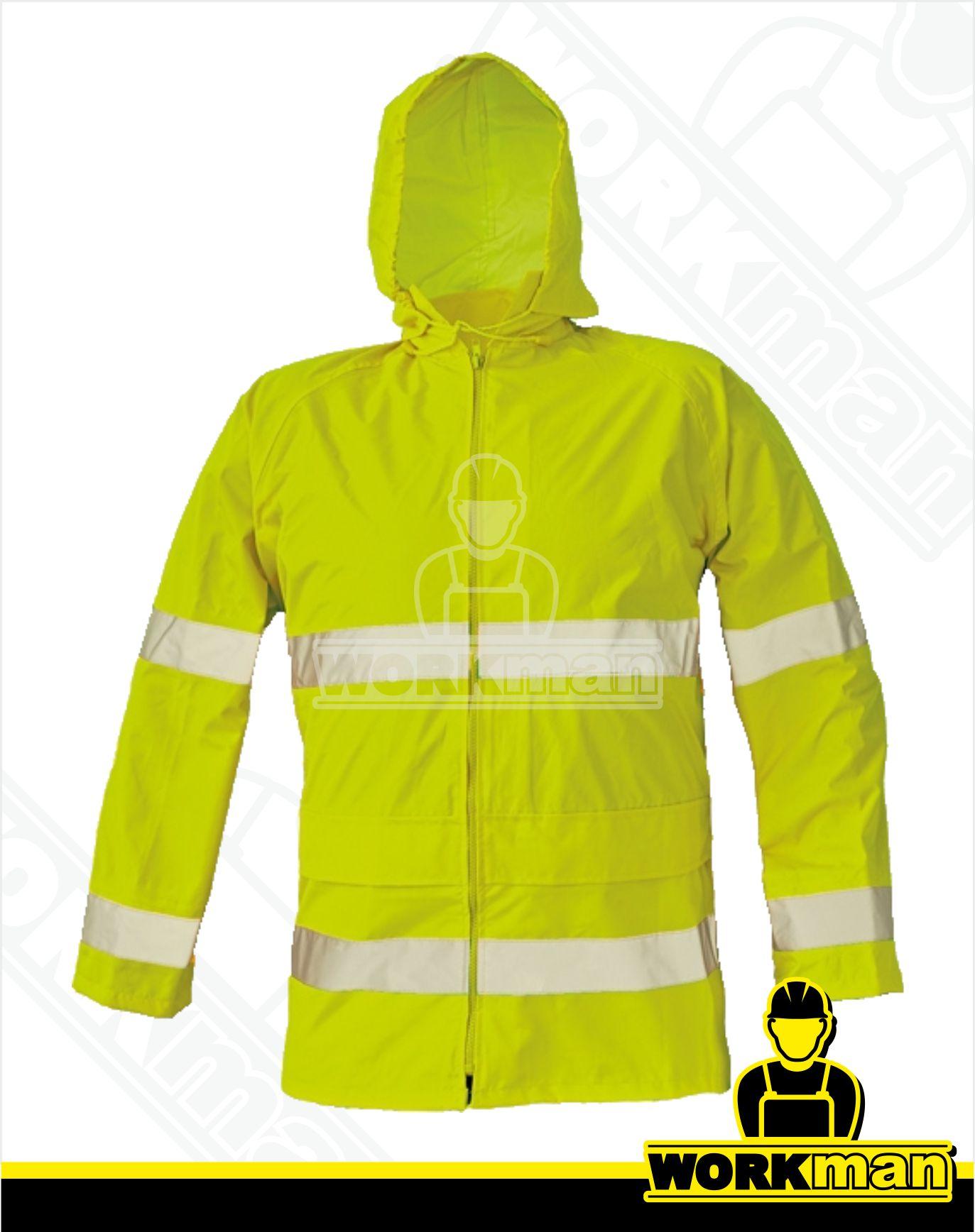 ed9cd4860a6f Nepremokavá reflexná bunda GORDON Červa Pracovné odevy WORKMAN
