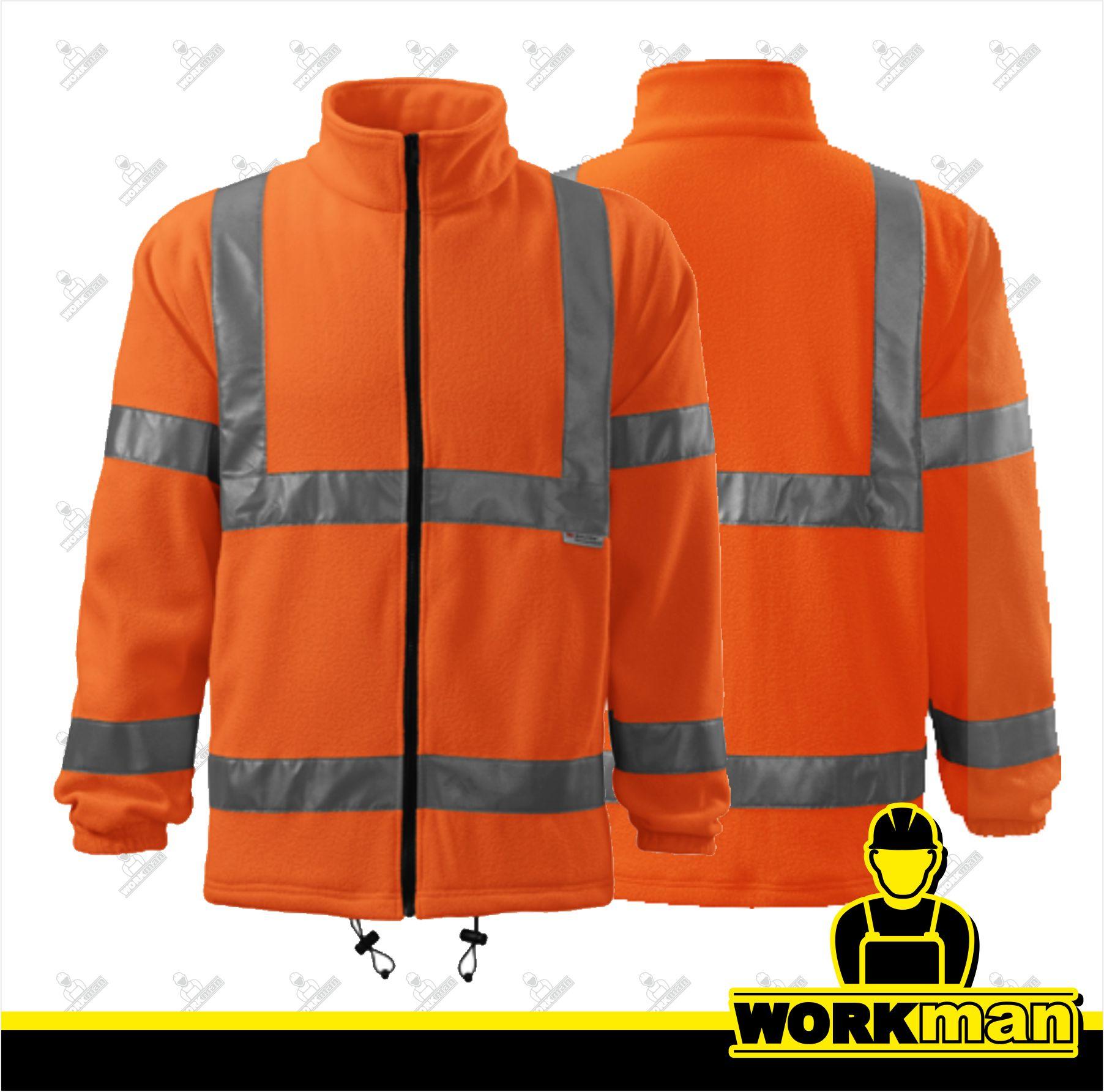 7bdb8bc53cb6 Reflexná fleece bunda 5V1 HV FLEECE JACKET ADLER Pracovné odevy
