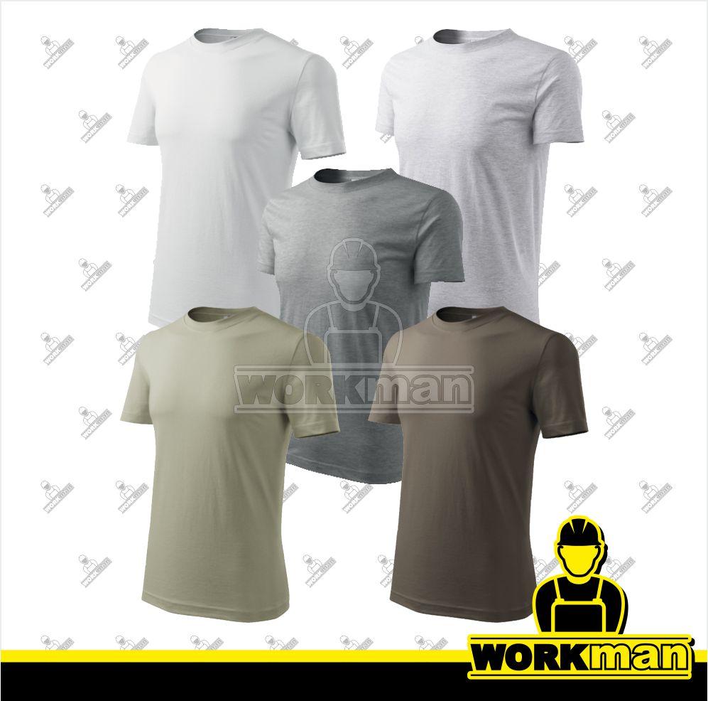 dbcf4d3dacc Tričko pánske CLASSIC NEW Adler Pracovné odevy Workman