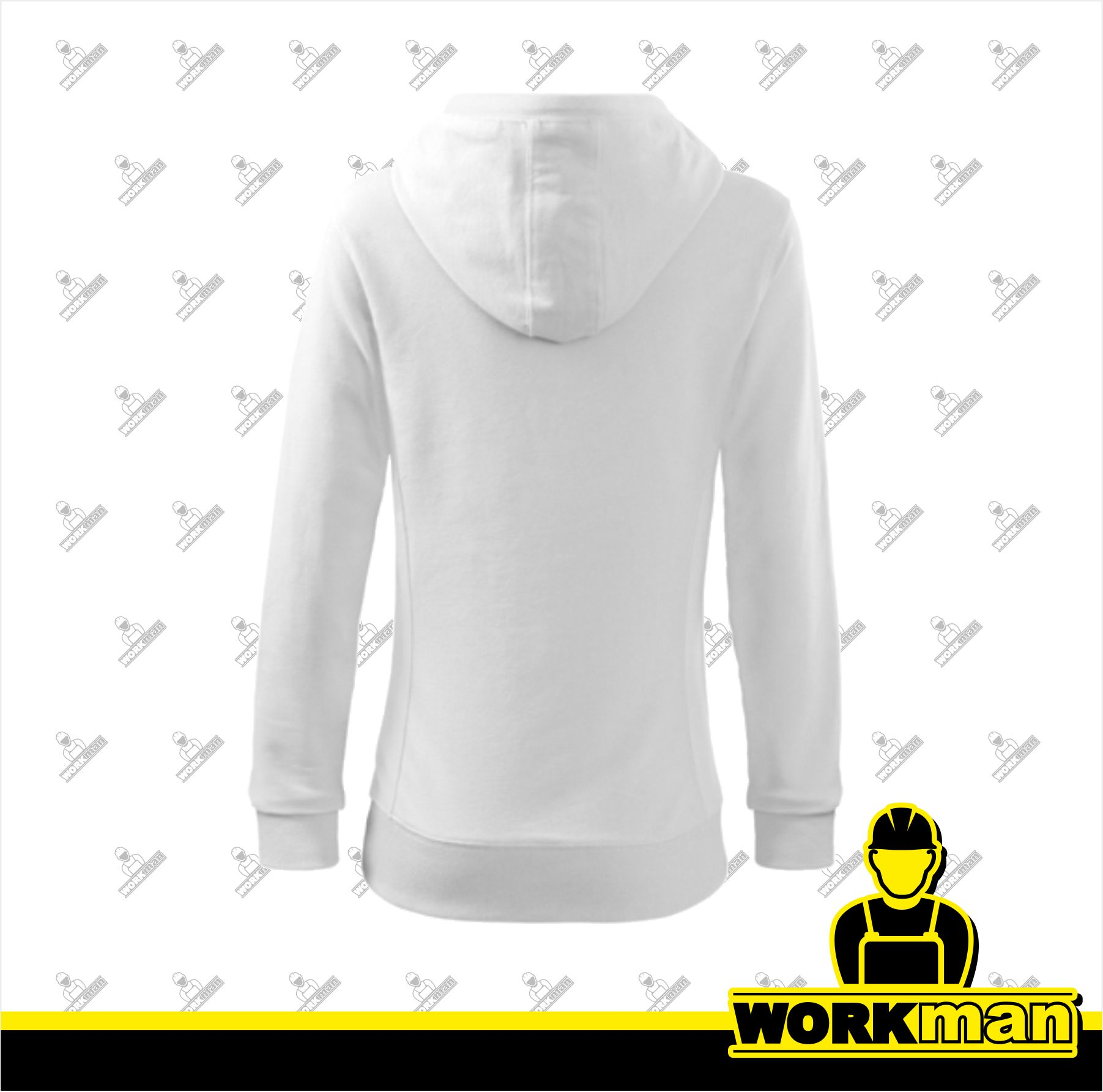 Mikina dámska KANGAROO Adler biela biela pracovné odevy WORKMAN 9c7d905d3f6