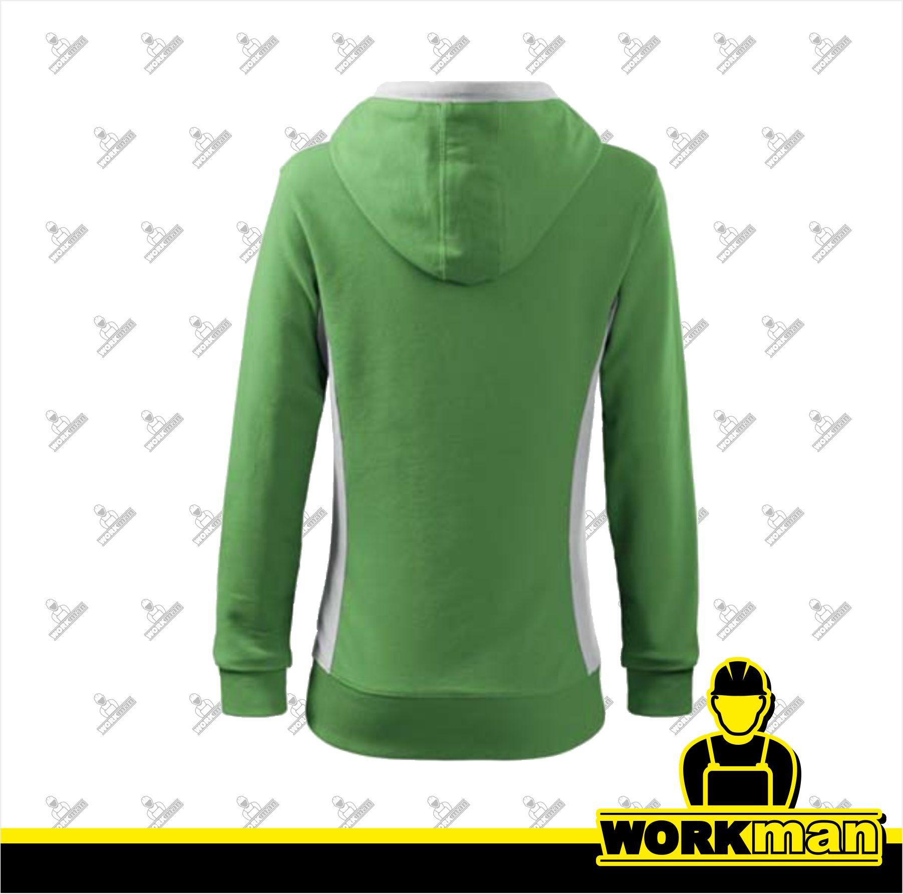 Mikina dámska KANGAROO Adler hrášková zelená pracovné odevy 0f60181ffe4