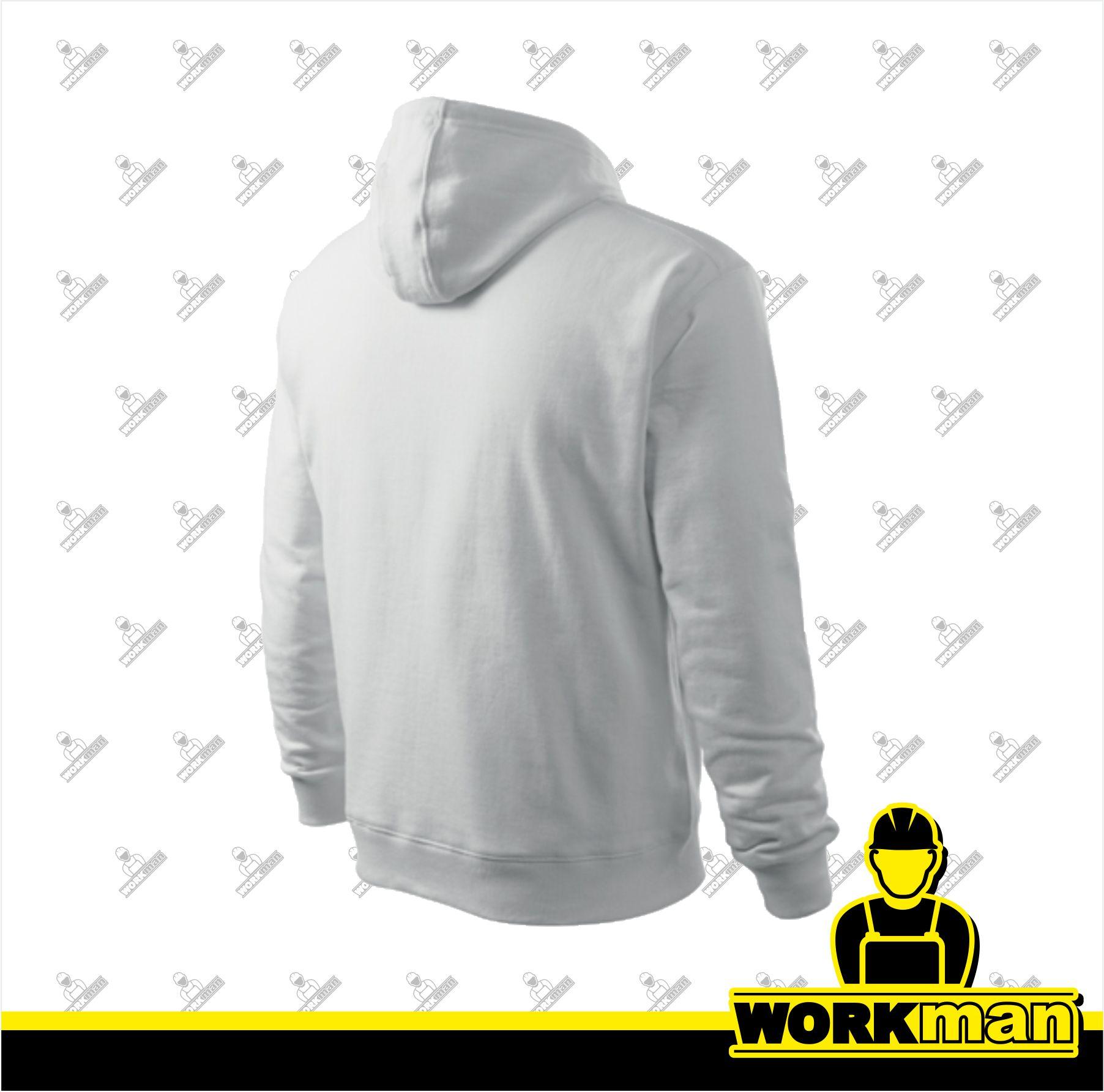 ace93e25143 Mikina pánska HOODED SWEATER Adler biela Pracovné odevy Workman