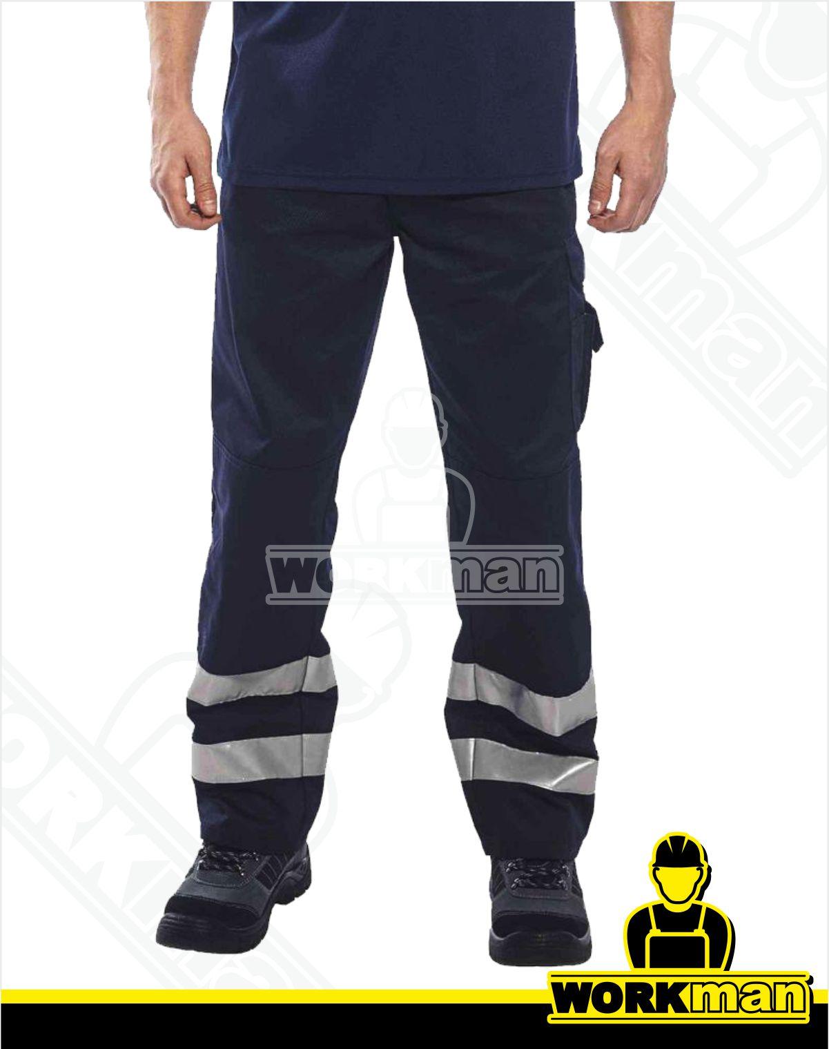 05bfc10a1454 Reflexné nohavice IONA S917 Portwest tmavomodrá Pracovné odevy WORKMAN