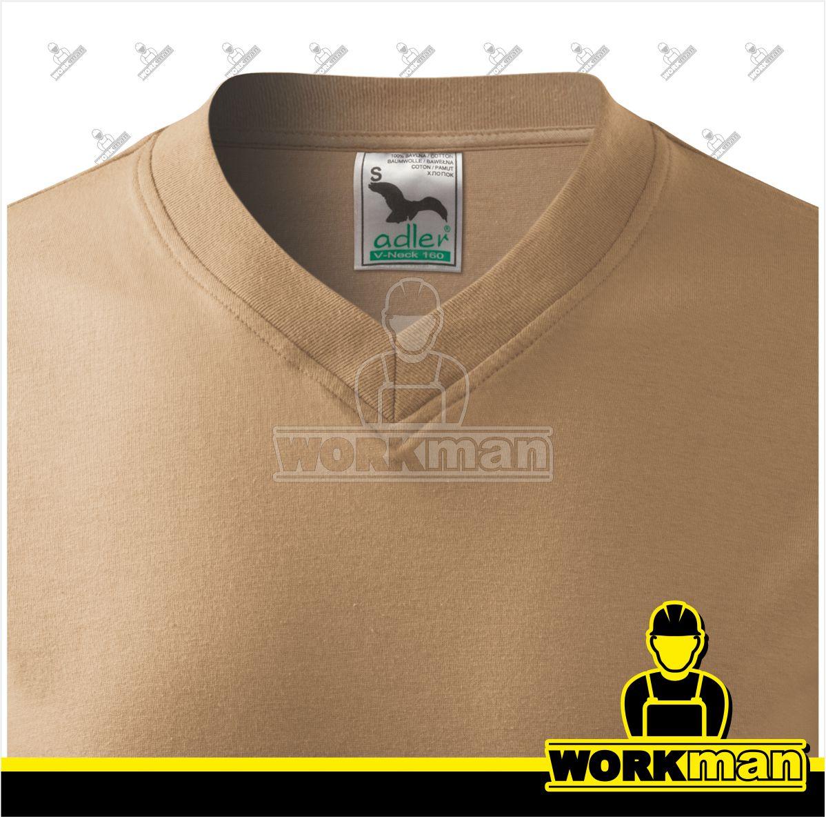 636ae708177 Tričko pánske V-NECK 160 Adler Pracovné odevy Workman