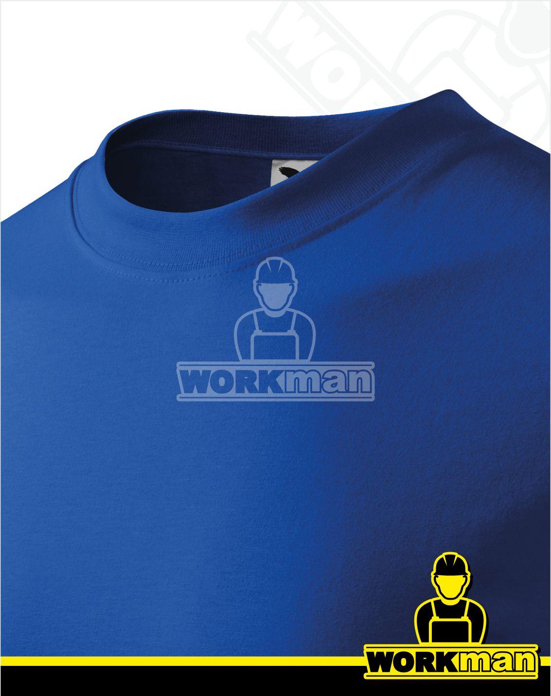 6844af231cc Tričko pánske CLASSIC Malfini kráľovská modrá pracovné odevy Workman