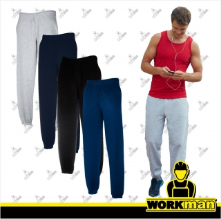 Pánske tepláky CLASSIC ELASTICATED CUFF JOG PANTS Fruit of the Loom