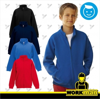 Detská mikina KIDS PREMIUM SWEAT JACKET Fruit of the Loom