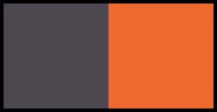sivá/oranžová